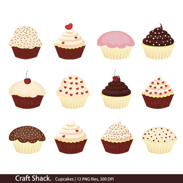 Vanilla Cupcake clipart sweet treat Treats Pinterest 50 & images