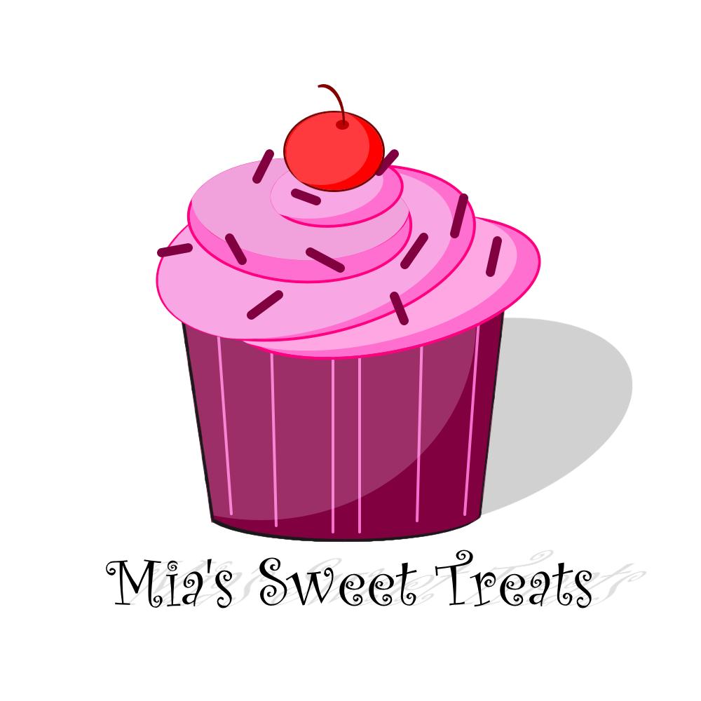 Vanilla Cupcake clipart sweet treat   Mia's Treats Sweet