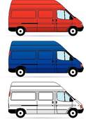 Vans clipart Van Clip Conversion Isolated Delivery