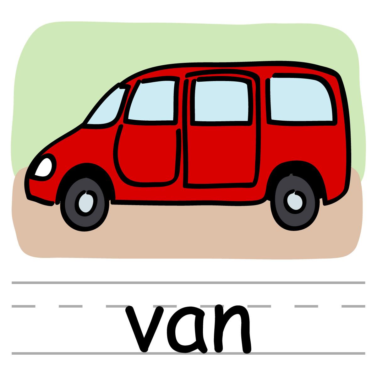 Vans clipart Clip Free Van Van Clipart