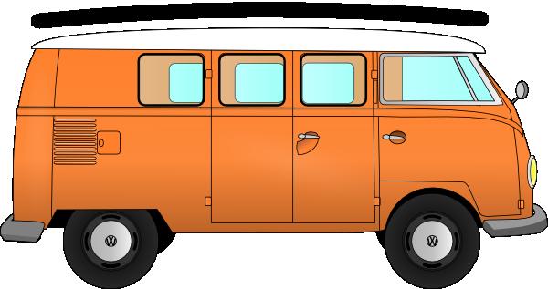 Hippies clipart vw camper van #2