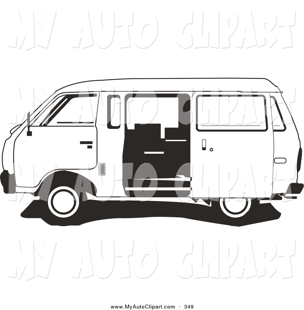 Vans clipart black and white With Van the Vans and