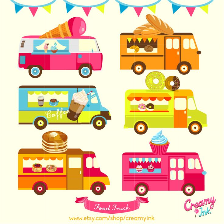 Caol clipart food industry Featuring Food truck ideas cupcake