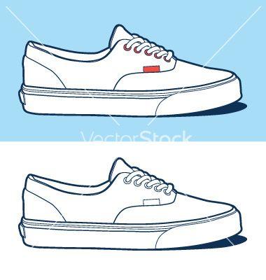Vans clipart vans shoe Search SHOES shoe Pinterest 14