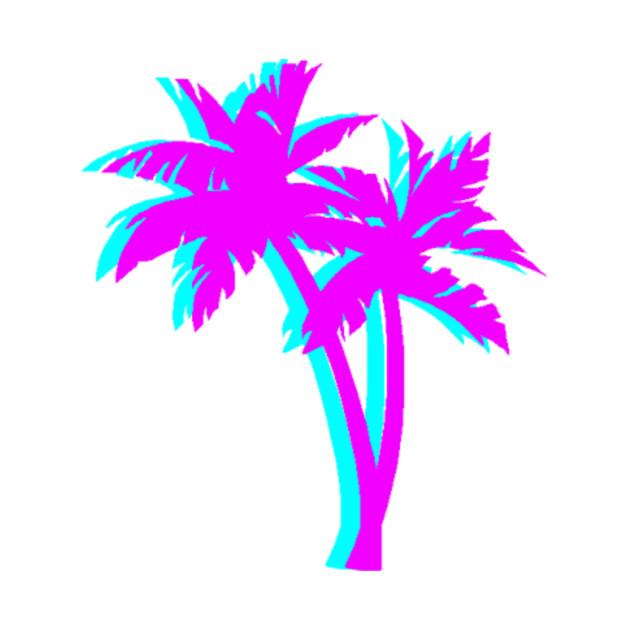 Vaporwave clipart Vaporwave TeePublic T Vaporwave Palm