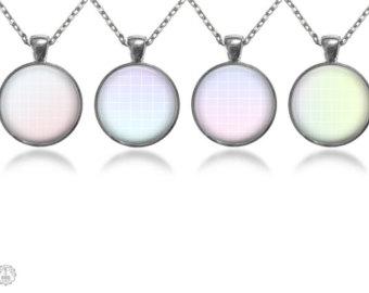Vaporwave clipart gold chain Necklace Grid Etsy Set Necklace
