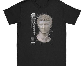 Vaporwave clipart roman bust Vaporwave Shirt Etsy Roman UK
