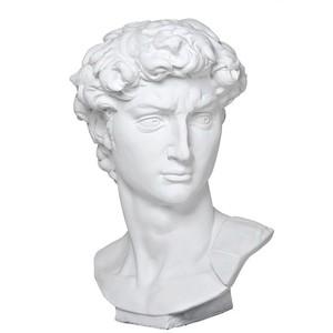 Vaporwave clipart roman bust Eichholtz Sculpture aesthetics graphics Polyvore