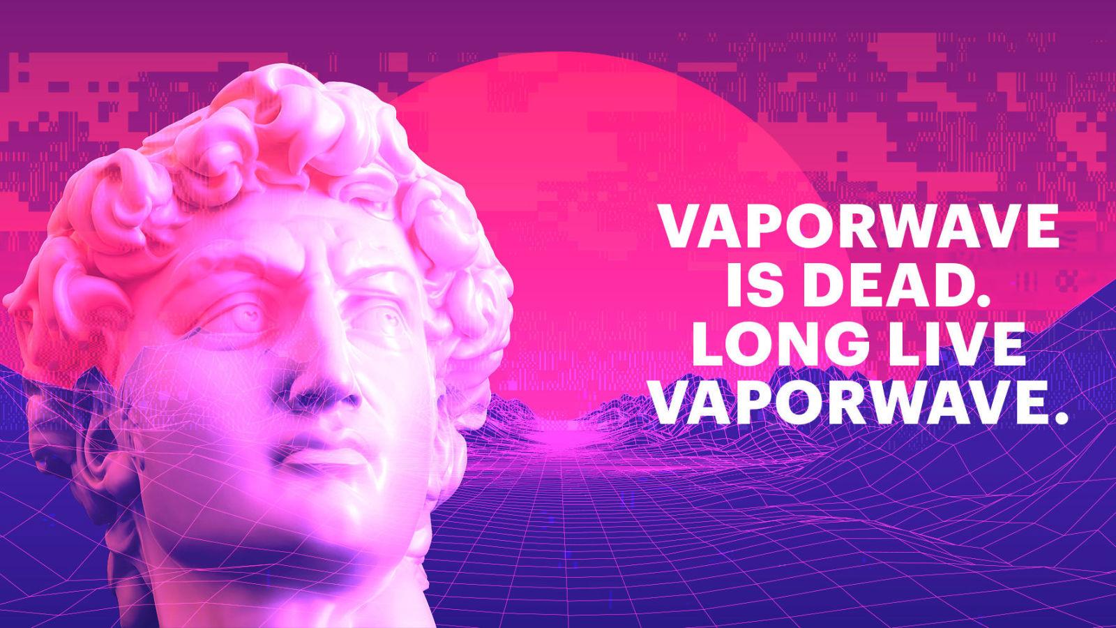 Vaporwave clipart roman bust Art) for long (80s/90s chance
