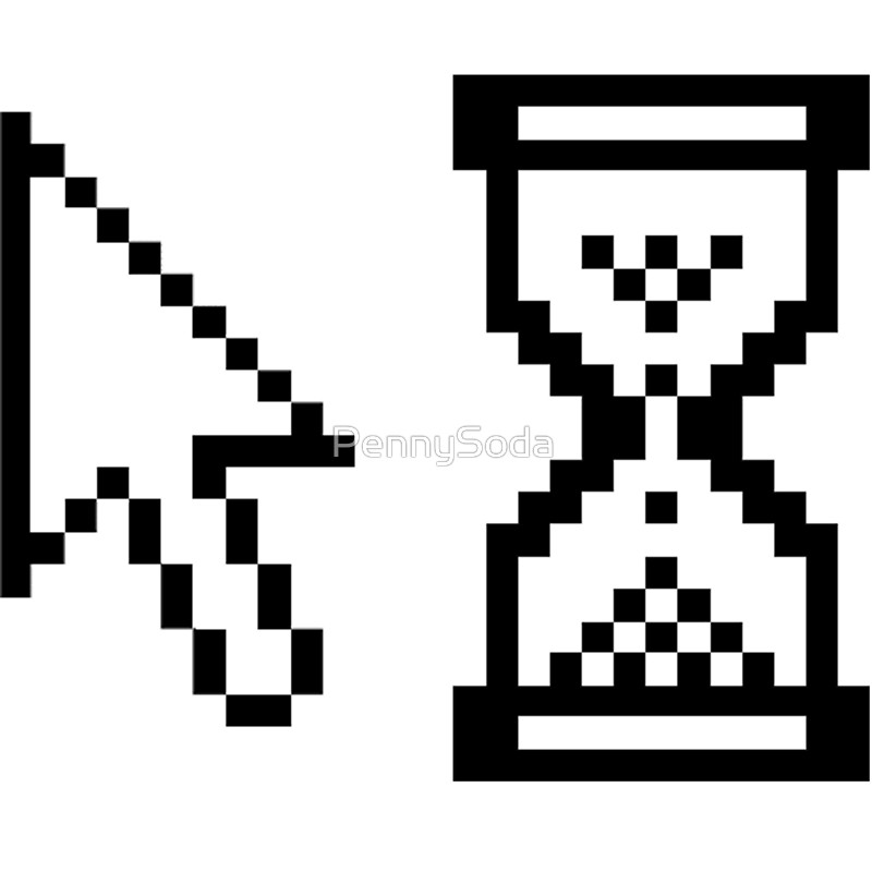 Vaporwave clipart windows 95 95 Cursor Windows Symbols Redbubble