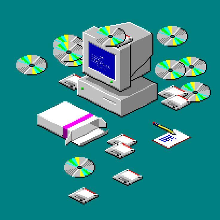 Vaporwave clipart windows 95 Gif Windows Pinterest on 98