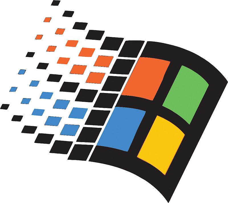 Vaporwave clipart windows 95 Windows  Stickers 95: Redbubble