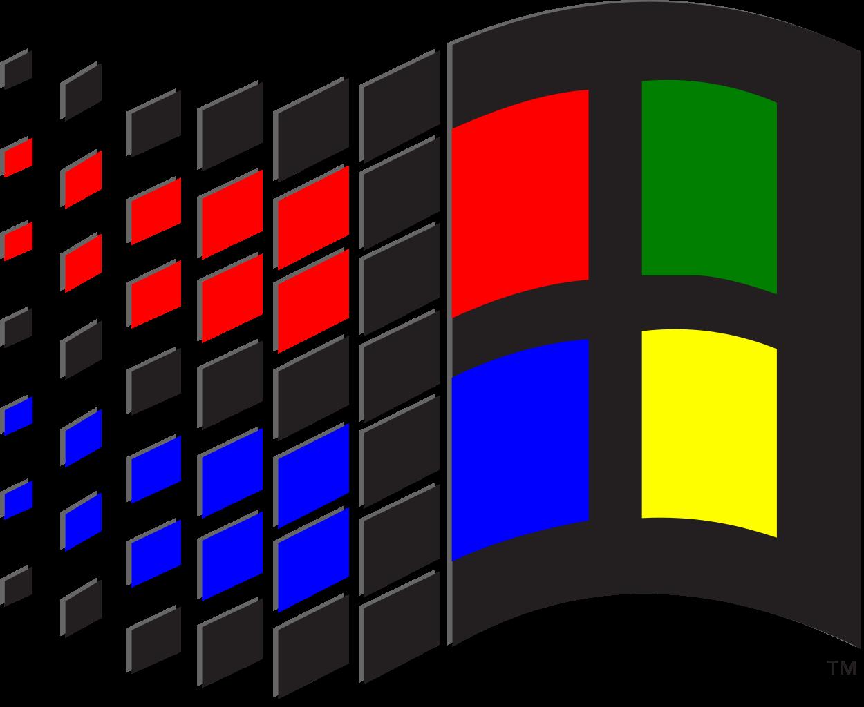 Vaporwave clipart windows 95  e v 98 r