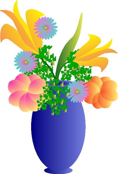 Vase clipart Online vector Clker Clip Vase