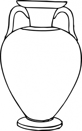 Drawn vase clipart Images Free Clipart Black Clipart