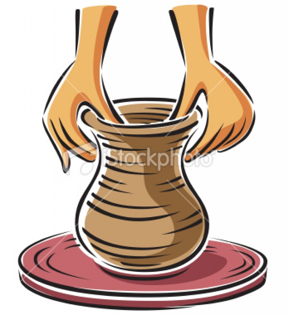 Vase clipart animated Art potters  Graphics wheel