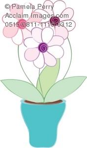 Vase clipart cute Flowers of of Cute Flowers