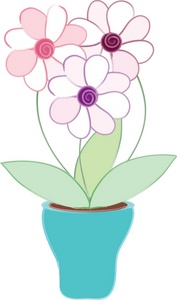 Vase clipart smashed Clipart vase growing or pot