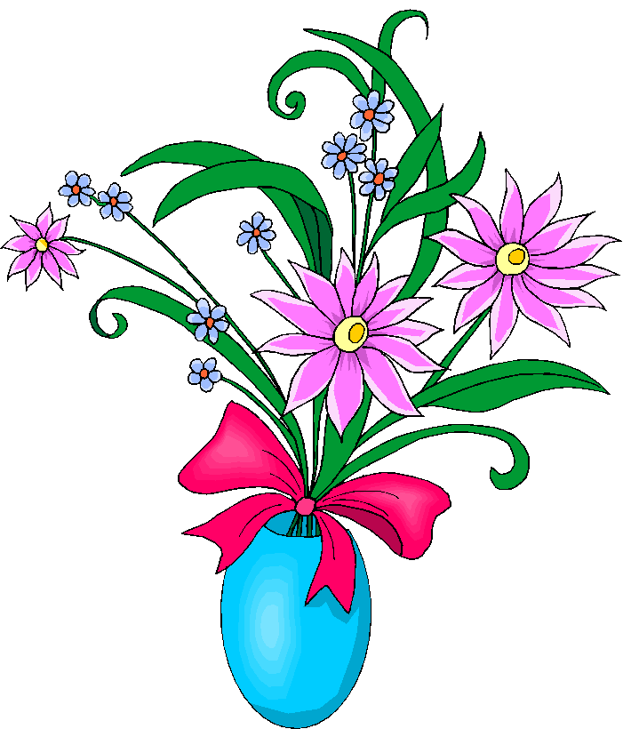 Gallery clipart april flower Collection flowers vase in clip