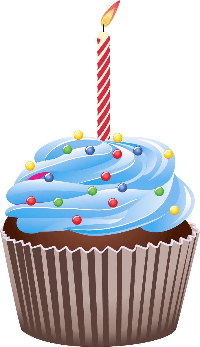 Vanilla Cupcake clipart one cupcake On images ART Pinterest Cupcake