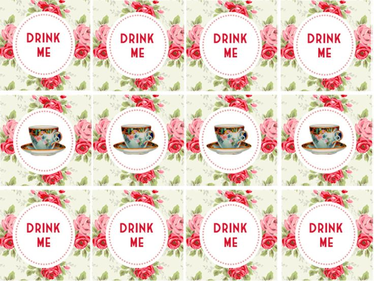 Tea Party clipart office lunch Printables Free Party Printables on
