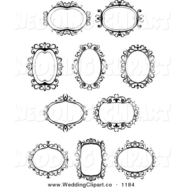 Vector clipart marriage #14
