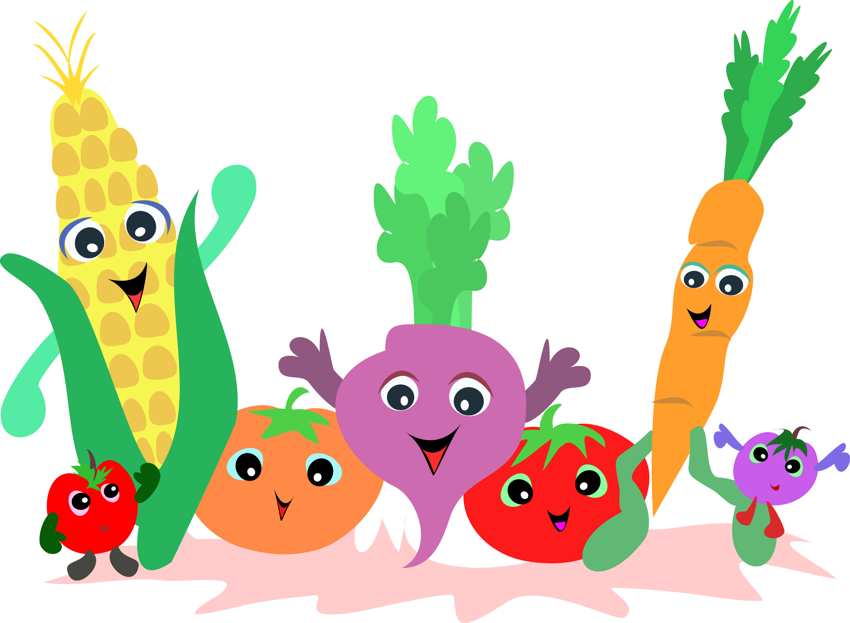Fruits & Vegetables clipart #3