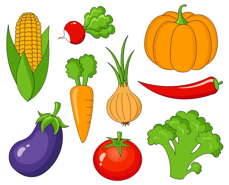Fruits & Vegetables clipart #5
