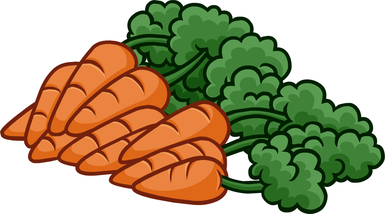 Carrot clipart bunch carrot Images com Cartoon Clipart Free