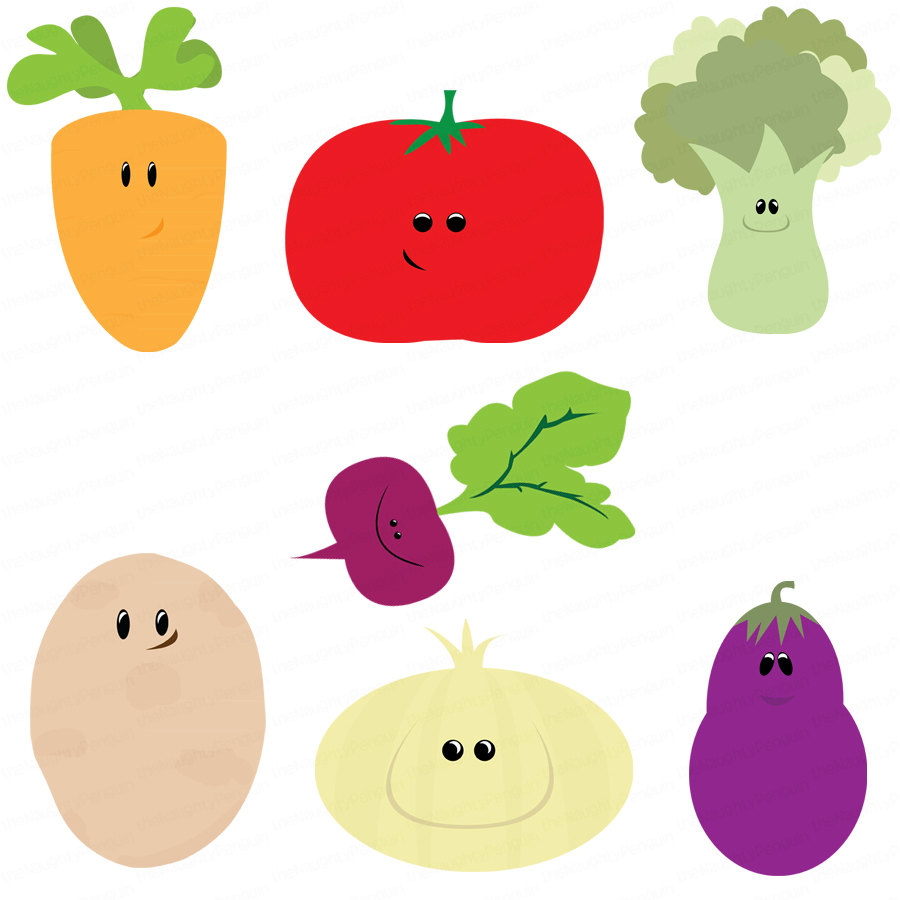Vegetable clipart cute Vegetable Clipart Cute magiel Webweaver