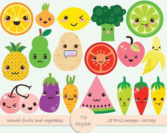 Vegetable clipart cute Vegetable Bags Clutches Top &