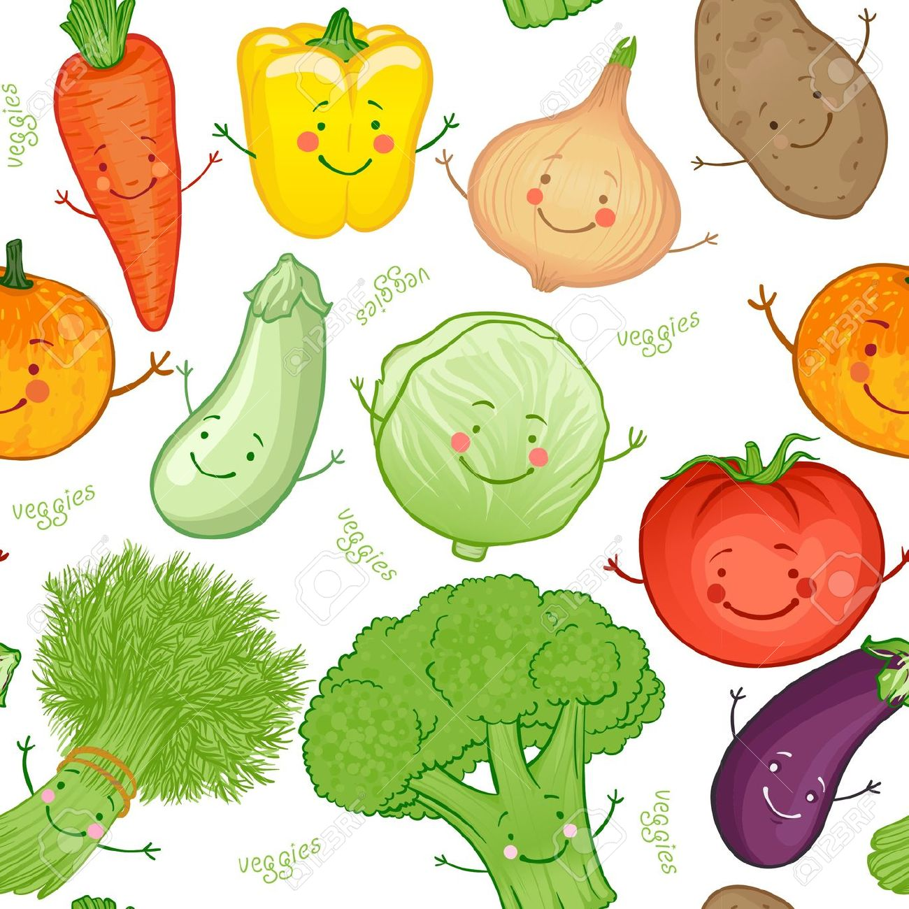 Vegetable clipart vege Tiny Vegetables 188 Clipart Clipart