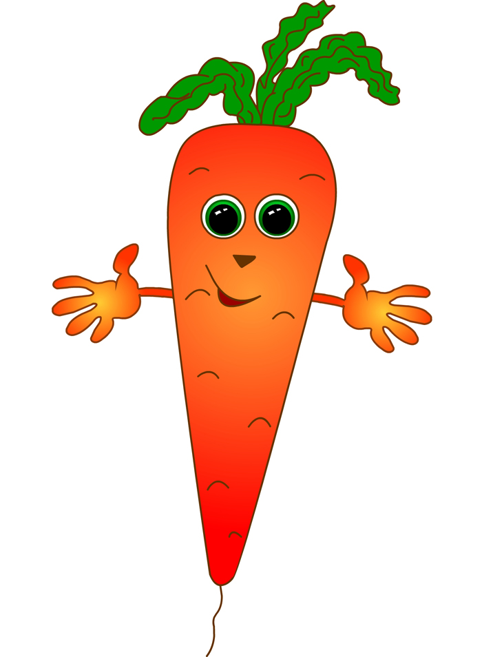 Carrot clipart vegtable Art Free Clipart Clip Free