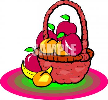 Banana clipart fruit and veg Panda And Vegetables Fruits Basket