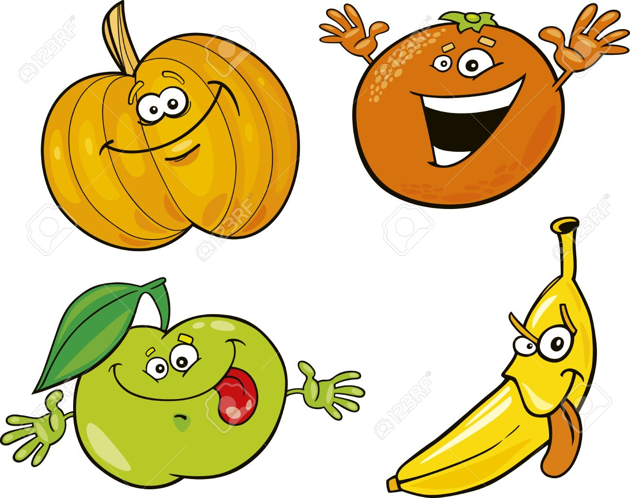 Banana clipart fruit and veg Clipart Collection Royalty Fruits Free