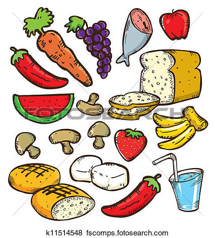 Vegetable clipart glow Foods Clipart  Glow