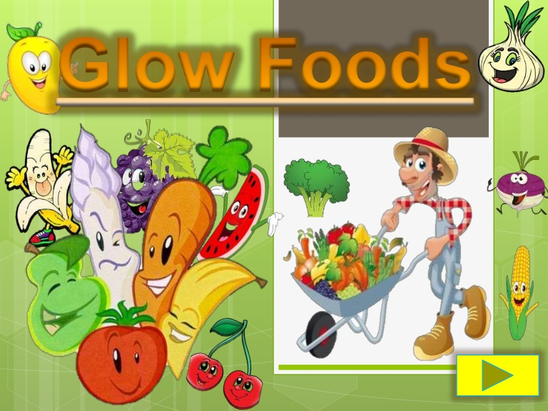 Vegetable clipart glow Powerpoint Go clipart Glow glow