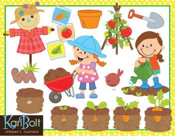Seed clipart kid plant Clip Gardening Art Gardening Tomato