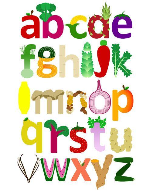 Vegetable clipart letter Alphabet Nursery 15 Children's on