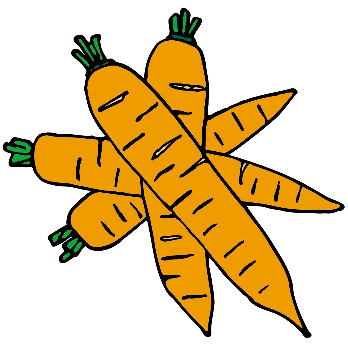 Carrot clipart single vegetable Clipart And Clipart Clipart Images