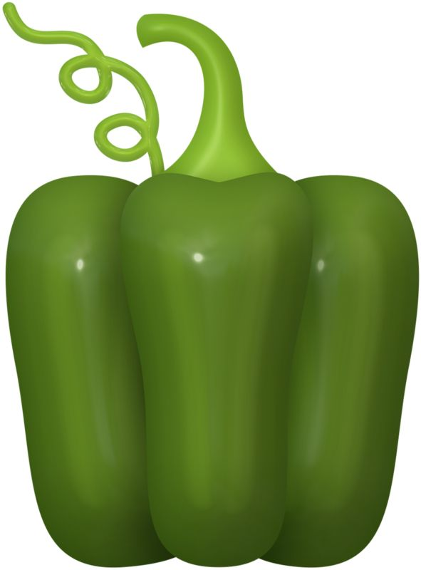 Pepper clipart green vegetable Best 483 Яндекс AND images