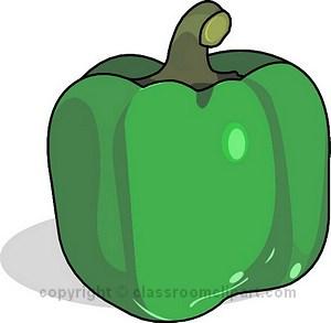 Pepper clipart green vegetable Vegetable Art Vegetable Art Panda
