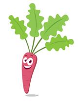 Carrot clipart individual Kb Art Character Funny Clip