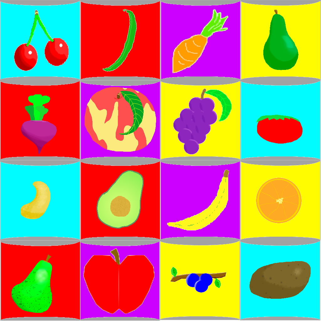 Vegetable clipart pop art Pop dArtagnons Art Fruit Veggie