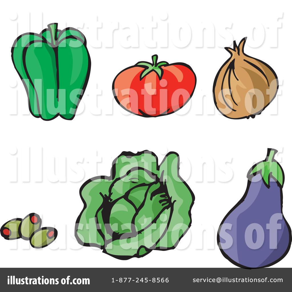 Capsicum clipart vegitables (RF) Clipart by Dennis Vegetables