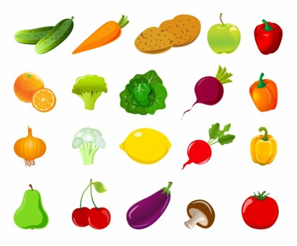 Vegetable clipart sayur Of Set Vector vector free