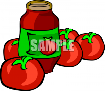Sause clipart condiment Picture Ripe Tomatoes Sauce