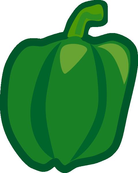 Pepper clipart green vegetable Vegetables Art Vegetable Clipart Images