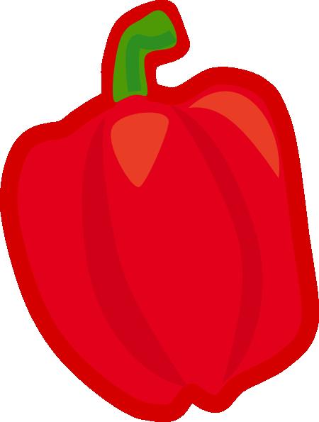Capsicum clipart vegitables Art Clipart Vegetables Images Free