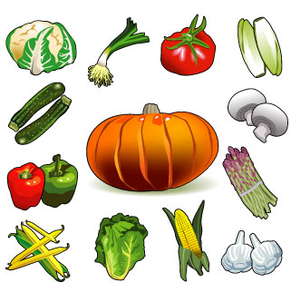 Vegetable clipart vector Clipart Vegetables Legumes cliparts
